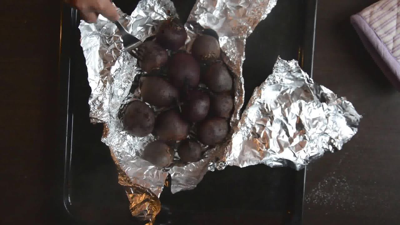 Image of the cooking step-1-3 for Beet Potato Holiday Salad - Roasted Beet Salad