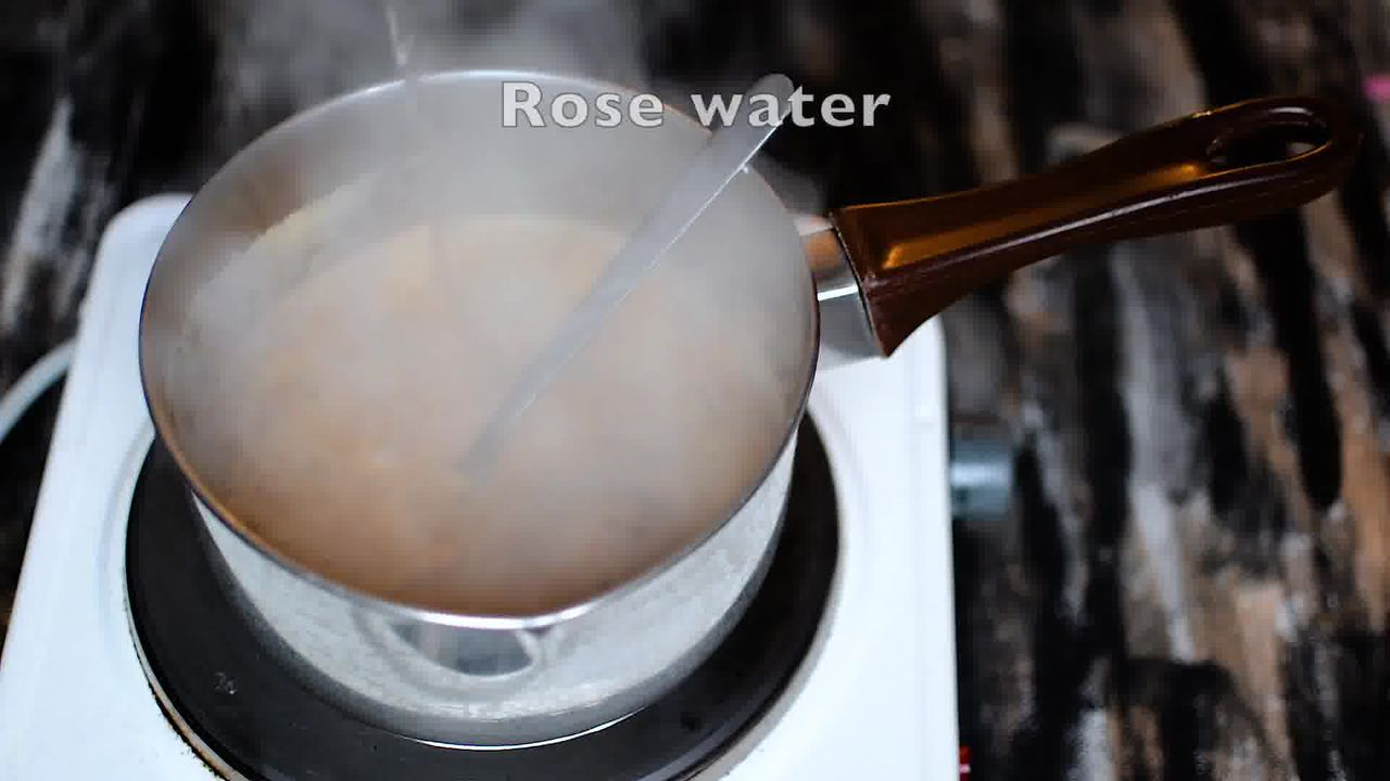 Image of the cooking step-1-9 for Rose Masala Chai Recipe - How to Make Rose Tea
