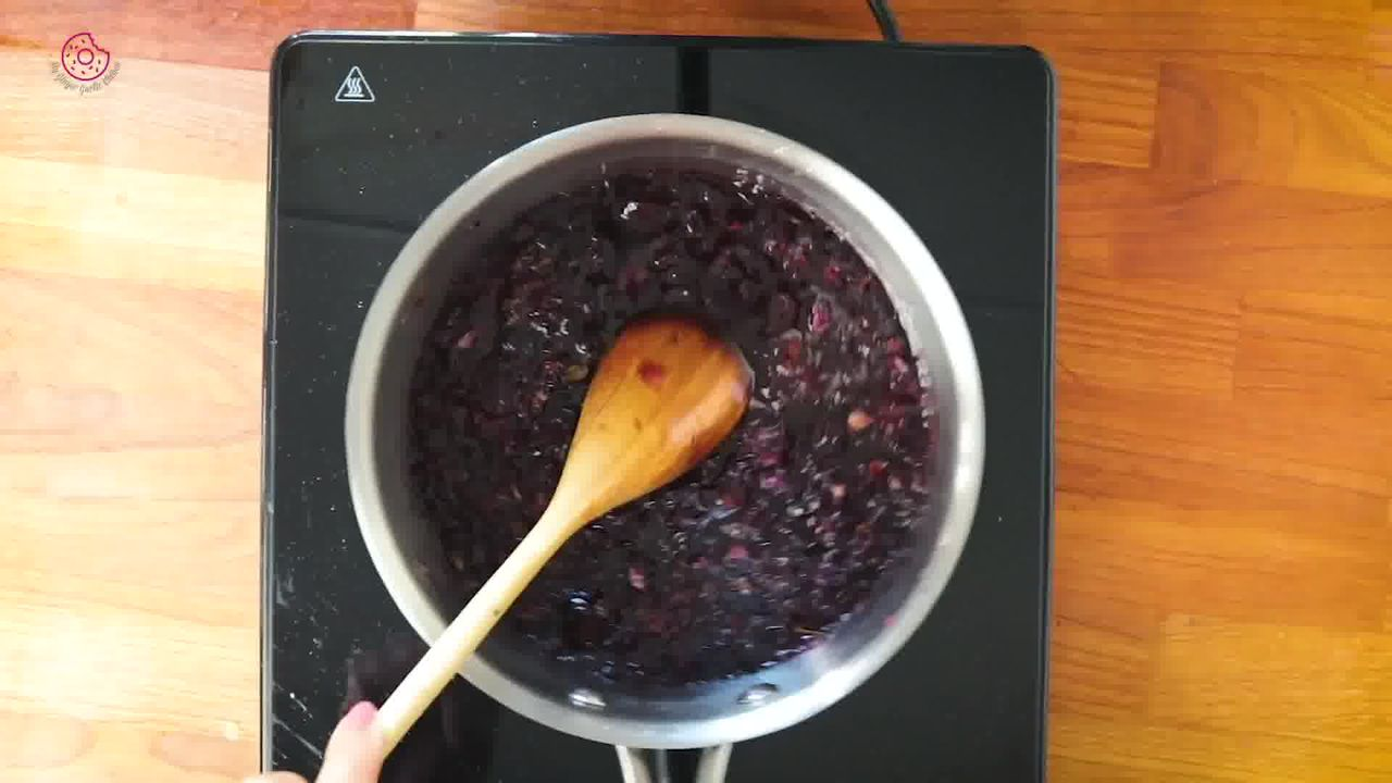 Image of the cooking step-1-10 for How to make Rose Syrup
