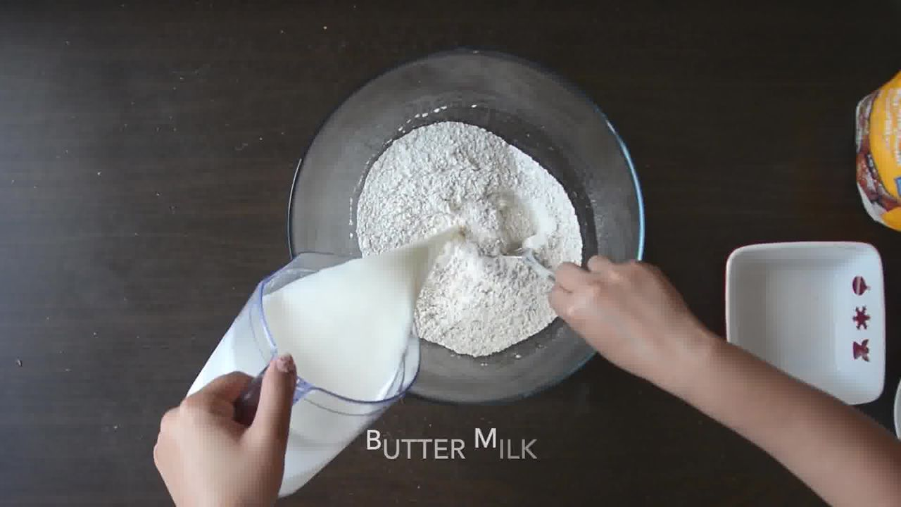 Image of the cooking step-1-2 for Quick Rye Irish Soda Bread Recipe Video