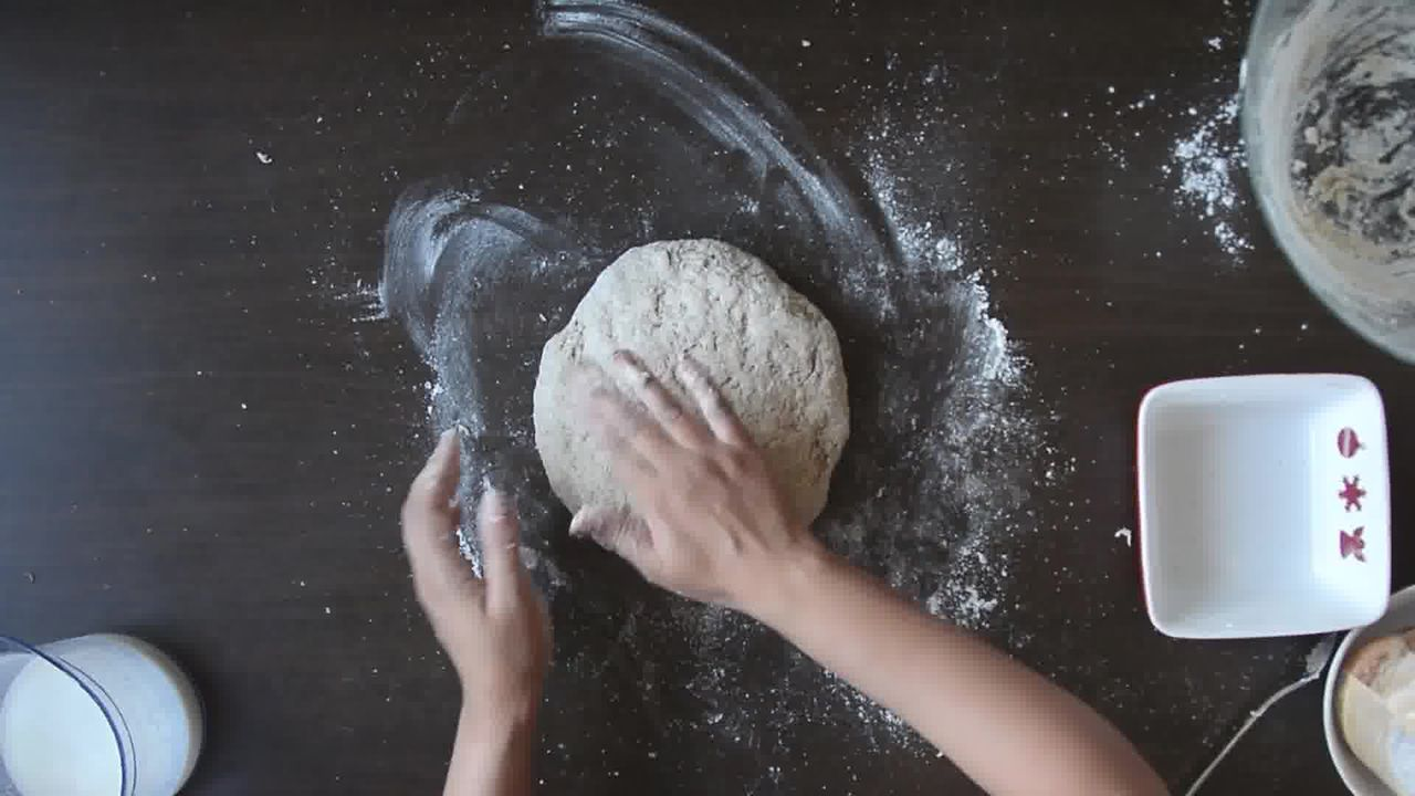 Image of the cooking step-1-5 for Quick Rye Irish Soda Bread Recipe Video