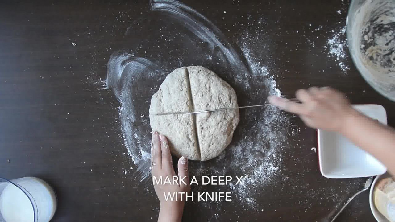 Image of the cooking step-1-6 for Quick Rye Irish Soda Bread Recipe Video