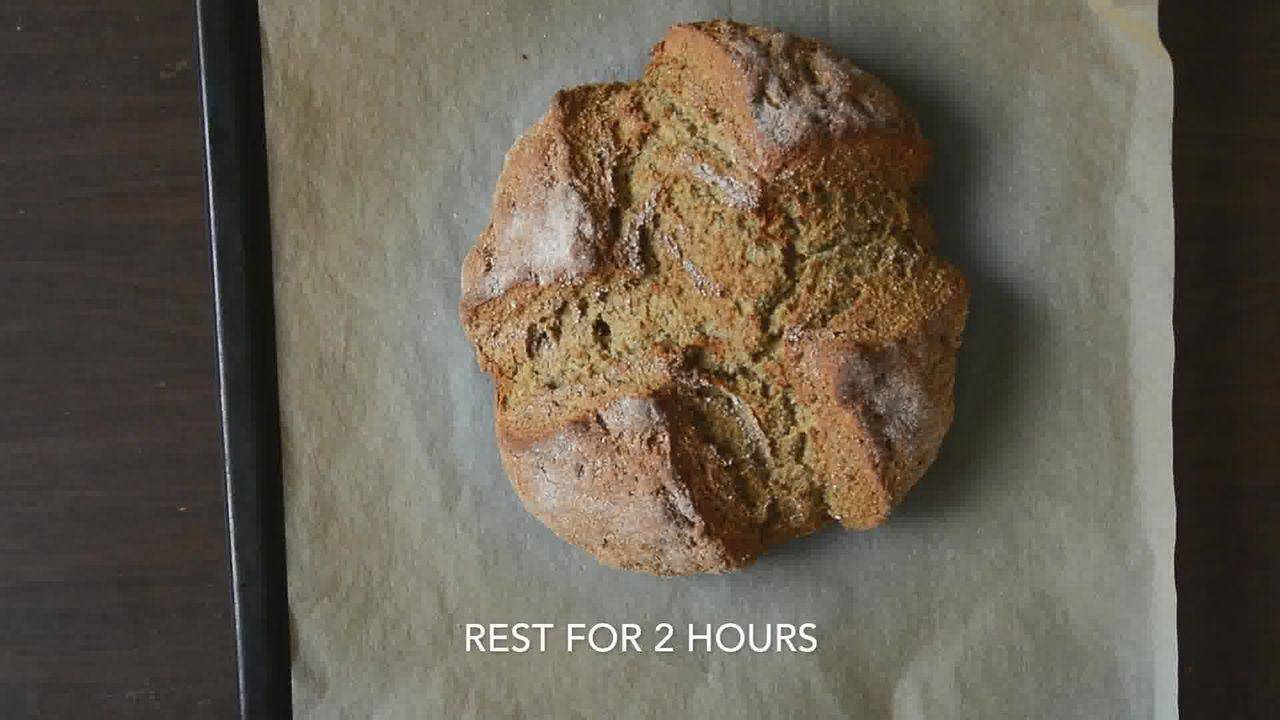 Image of the cooking step-1-9 for Quick Rye Irish Soda Bread Recipe Video