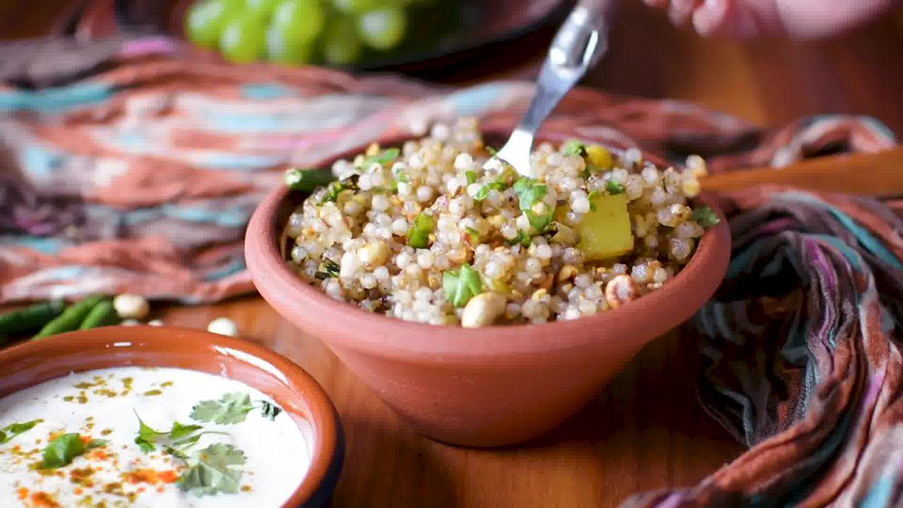 Image of the cooking step-2-13 for Sabudana Khichdi - Tapioca Pearl Stir-Fry
