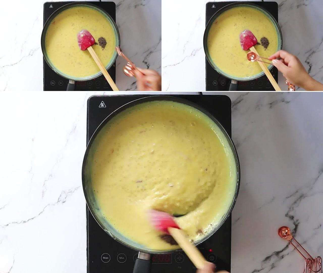 Image of the cooking step-1-8 for Sago Fruit Custard (Sabudana Fruit Custard)