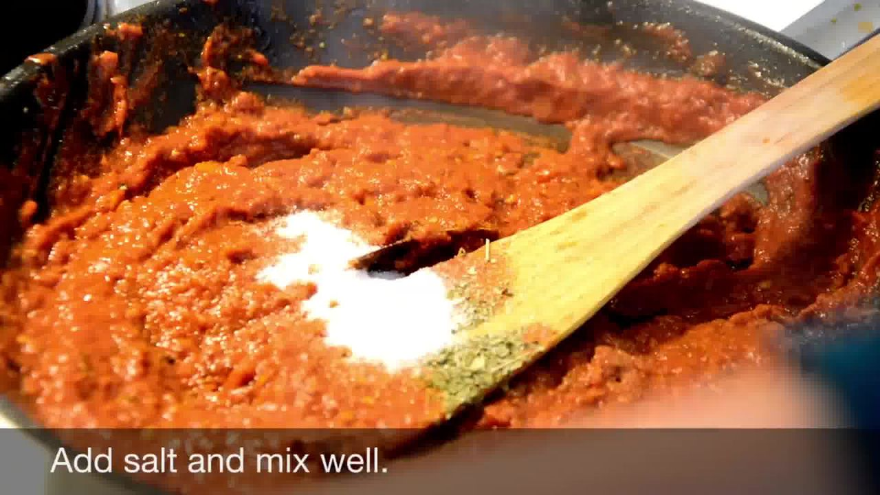 Image of the cooking step-1-13 for Kadai Mushroom (Restaurant Style)