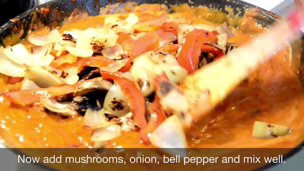 Image of the cooking step-1-16 for Kadai Mushroom (Restaurant Style)