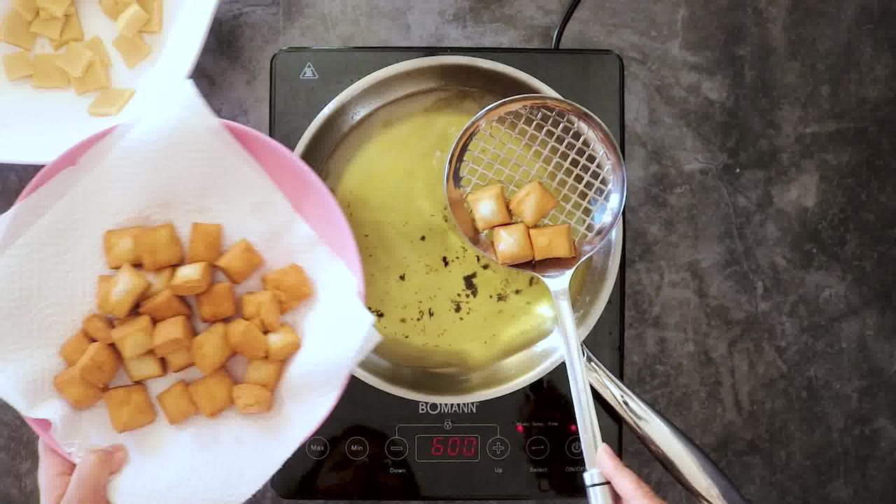 Image of the cooking step-2-4 for Shakkarpara + Shankarpali (Fried, Air Fryer, and Baked Recipe)