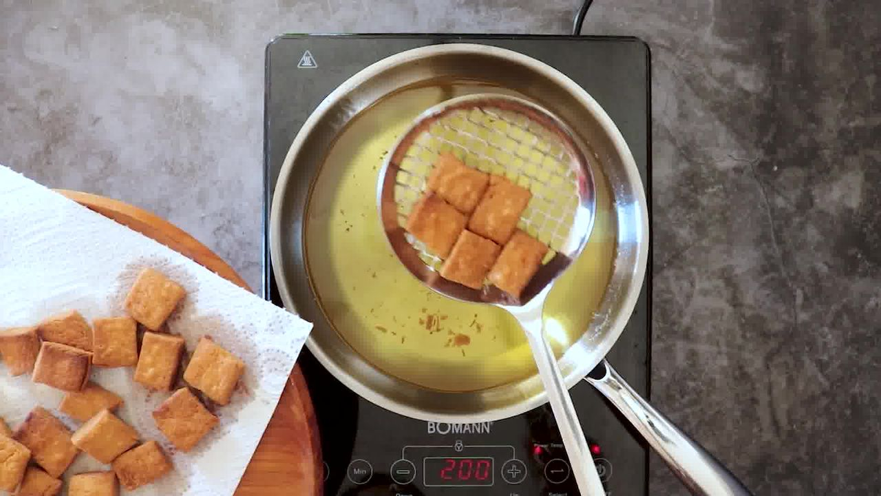 Image of the cooking step-8-3 for Shakkarpara + Shankarpali (Fried, Air Fryer, and Baked Recipe)