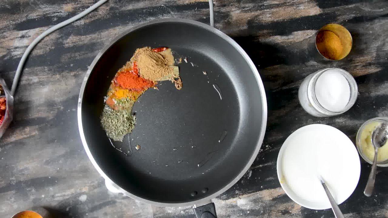 Image of the cooking step-2-3 for Steamed Besan Gatte Ki Sabzi - Rajasthani Adhar Bele