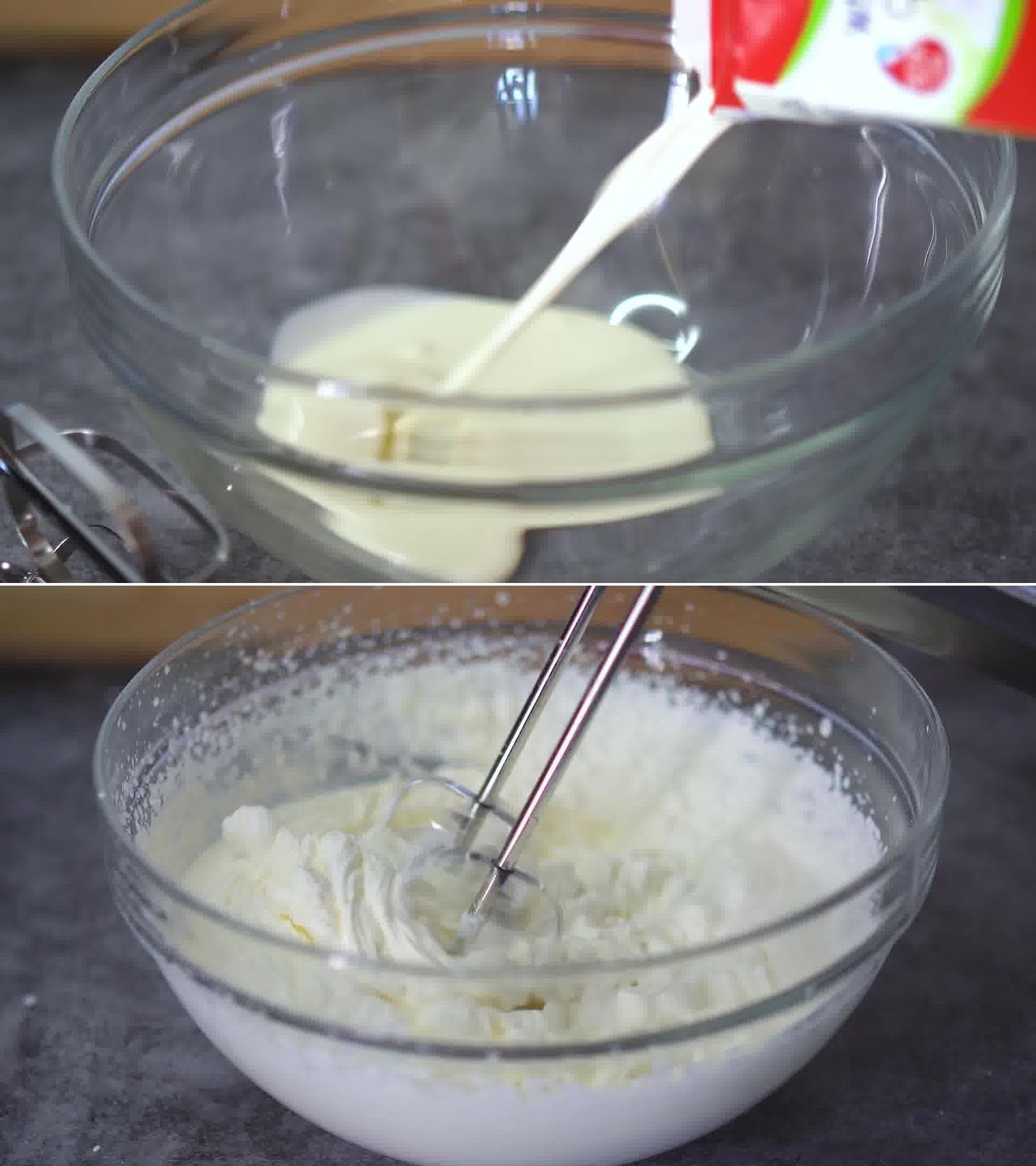 Image of the cooking step-1-2 for Strawberry Ice Cream