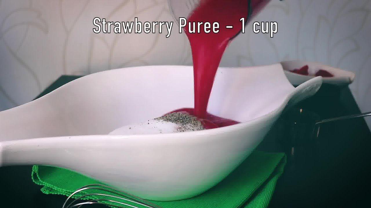 Image of the cooking step-1-8 for Instant Strawberry Shrikhand - Strawberry Yogurt Dessert