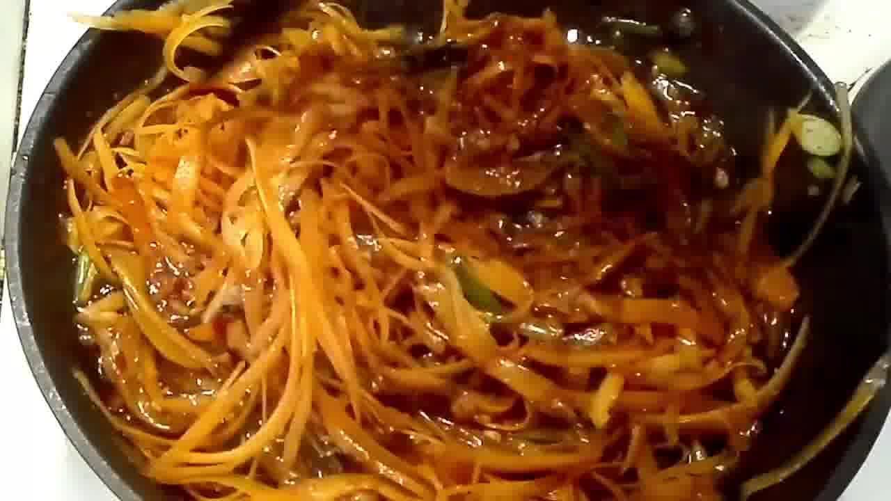 Image of the cooking step-2-7 for Szechuan Spiced Carrot Fettuccine Recipe