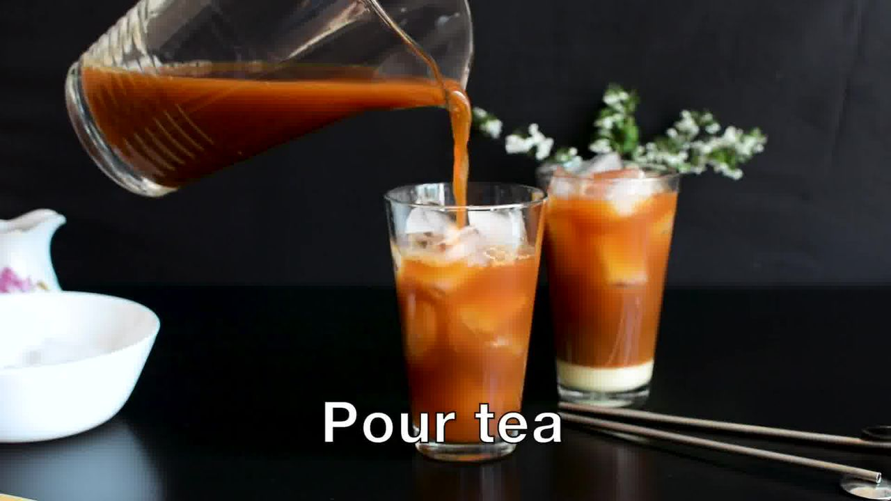 Image of the cooking step-2-2 for Thai Iced Tea Recipe