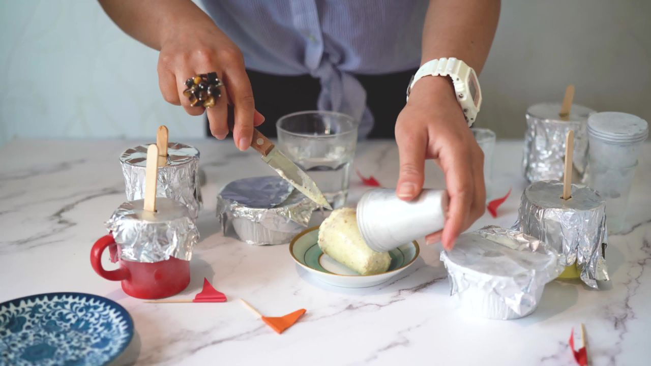 Image of the cooking step-1-10 for No Cook Thandai Kulfi