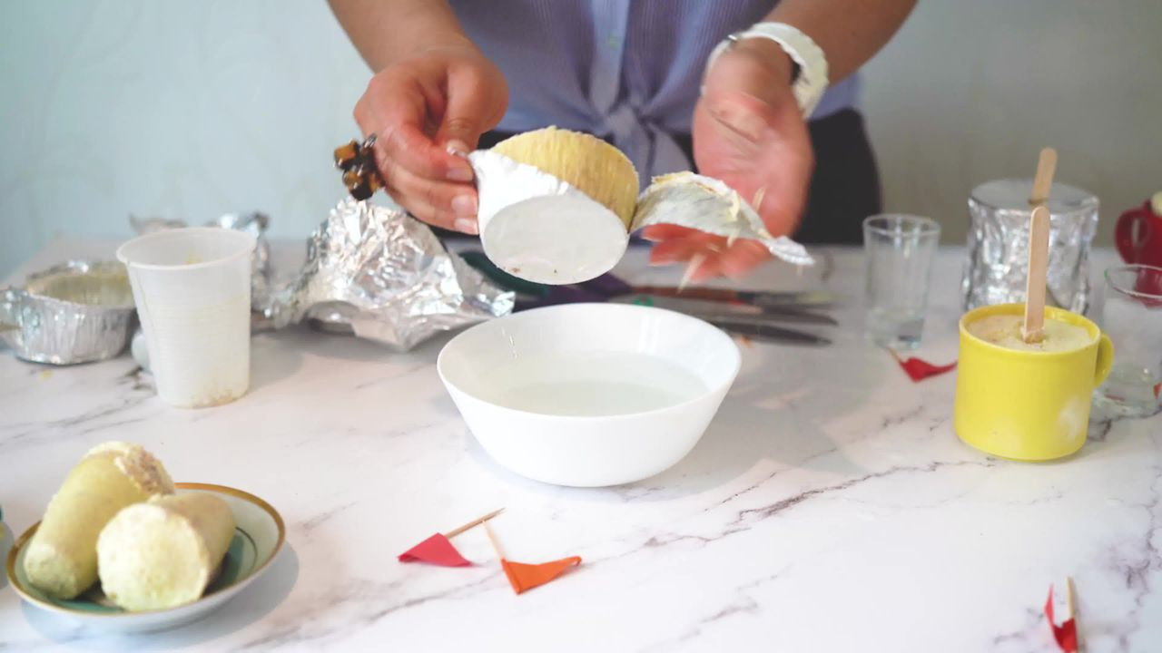 Image of the cooking step-1-11 for No Cook Thandai Kulfi