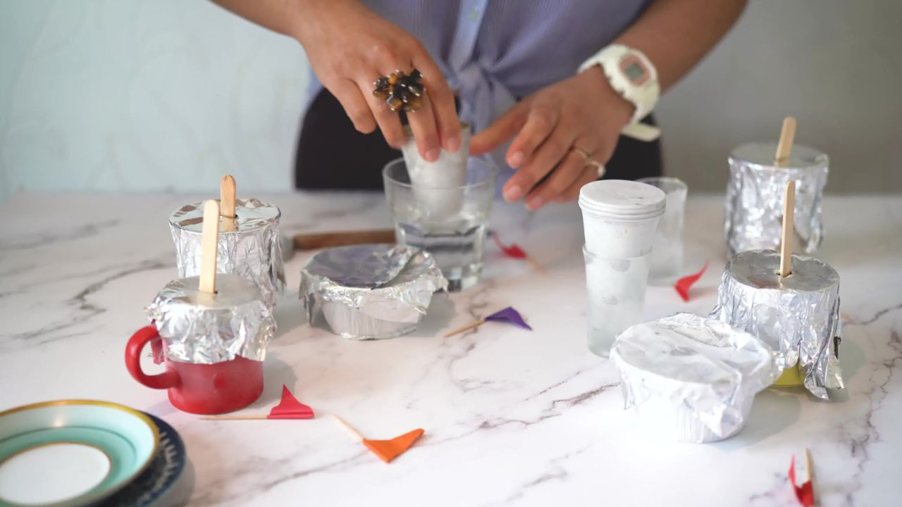 Image of the cooking step-1-9 for No Cook Thandai Kulfi