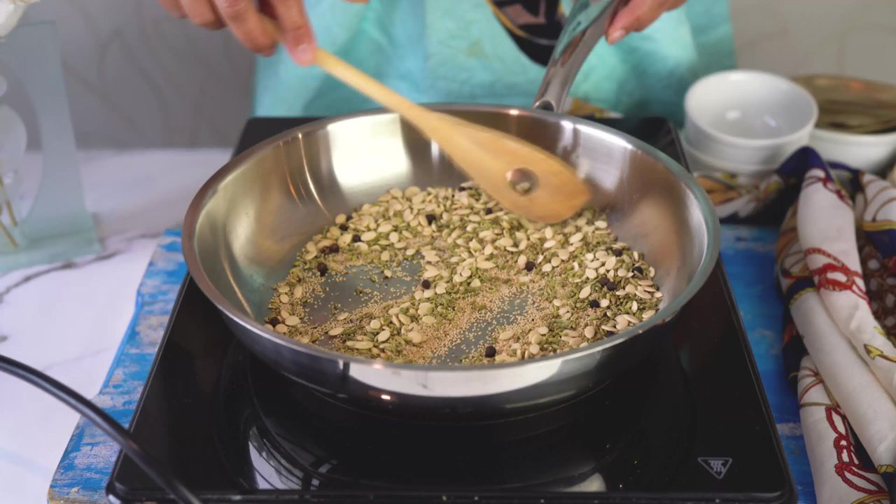 Image of the cooking step-1-5 for Thandai Powder + Thandai Milkshake
