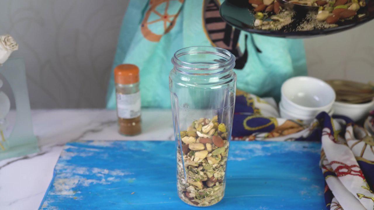 Image of the cooking step-1-7 for Thandai Powder + Thandai Milkshake