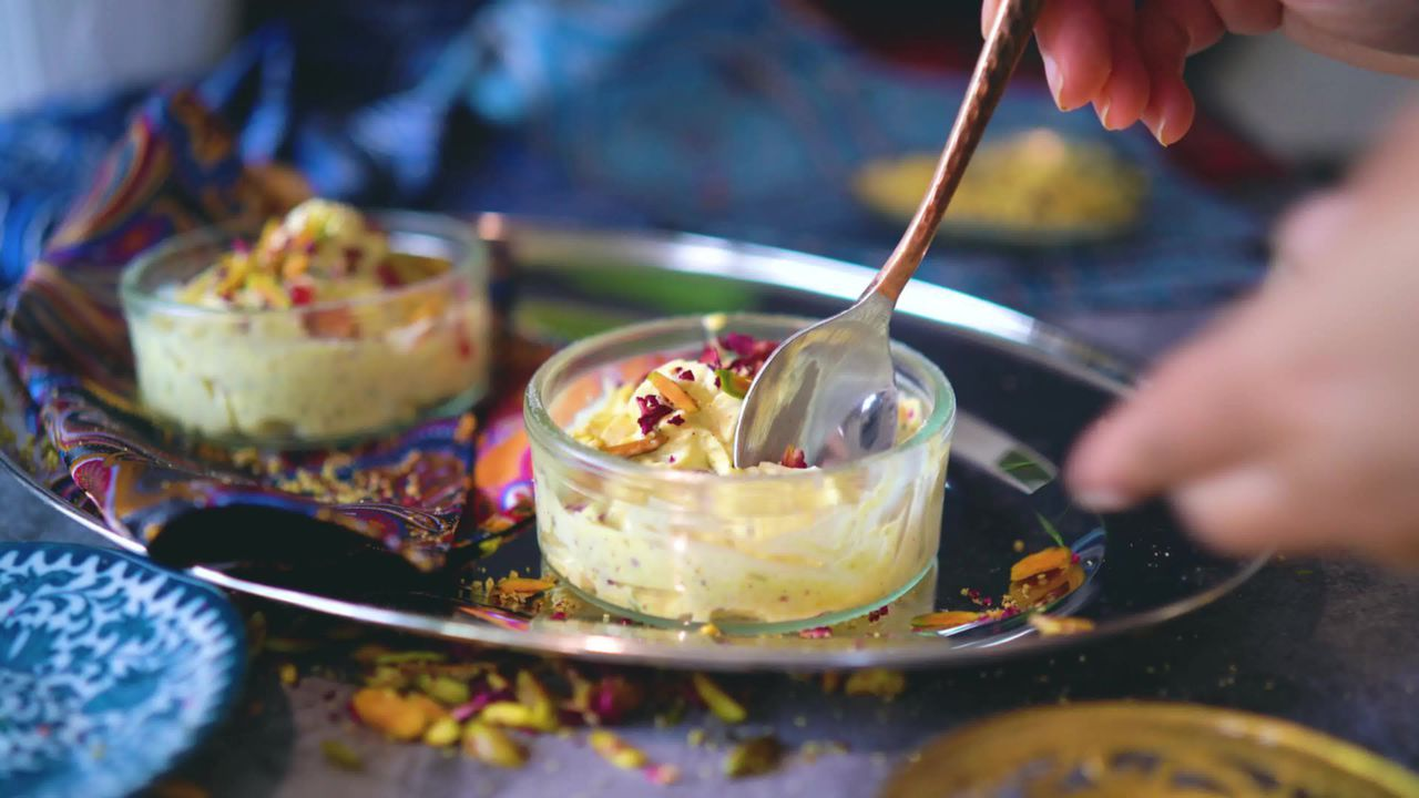 Image of the cooking step-1-13 for Thandai Shrikhand