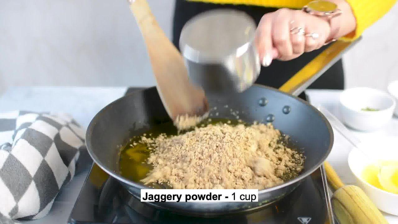 Image of the cooking step-2-2 for Til Chikki - Sesame Seed Bars