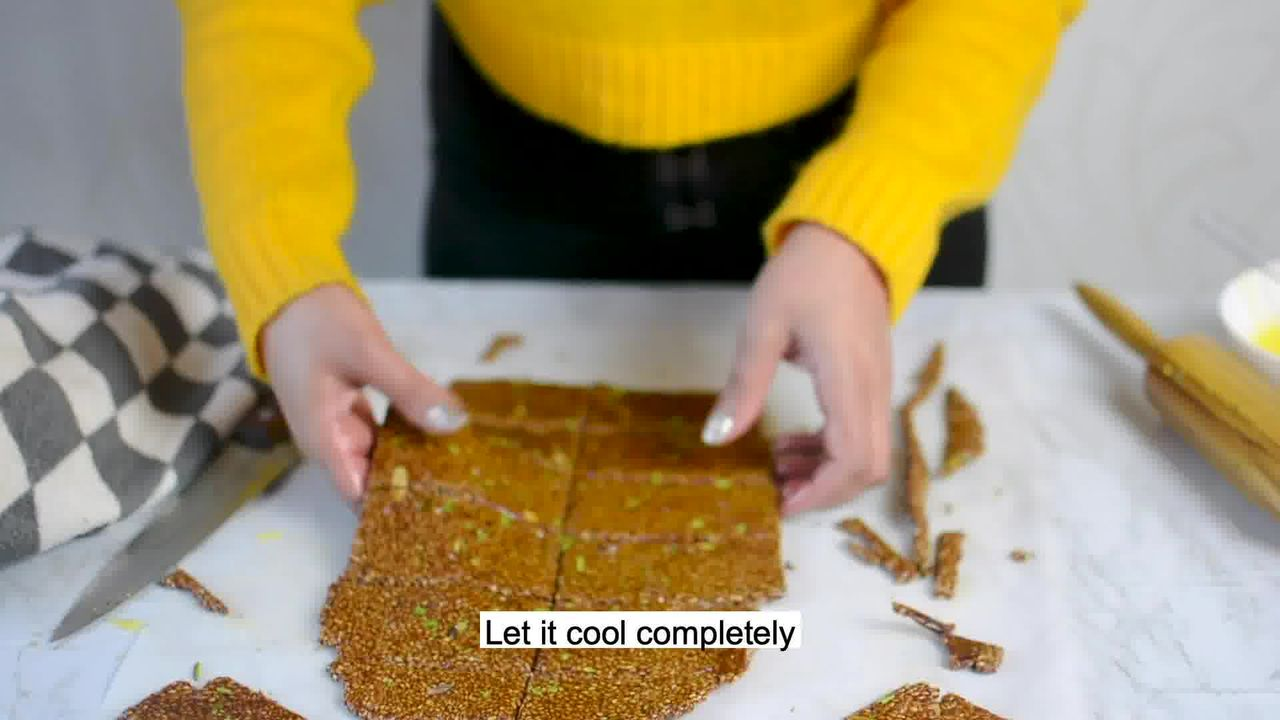 Image of the cooking step-3-11 for Til Chikki - Sesame Seed Bars