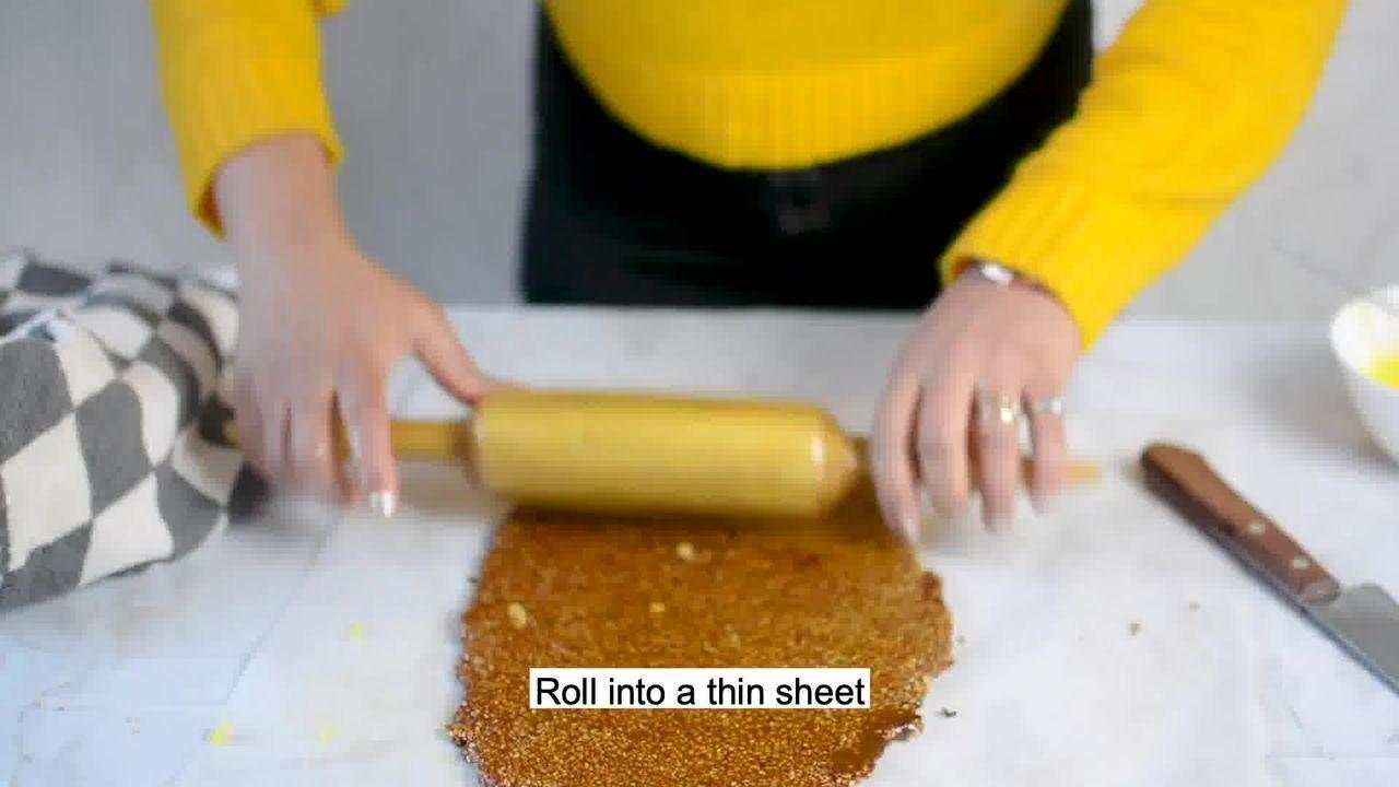 Image of the cooking step-3-8 for Til Chikki - Sesame Seed Bars