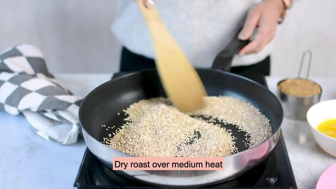 Image of the cooking step-1-1 for Til Laddu - Tilgul (Sesame Seeds Laddu)