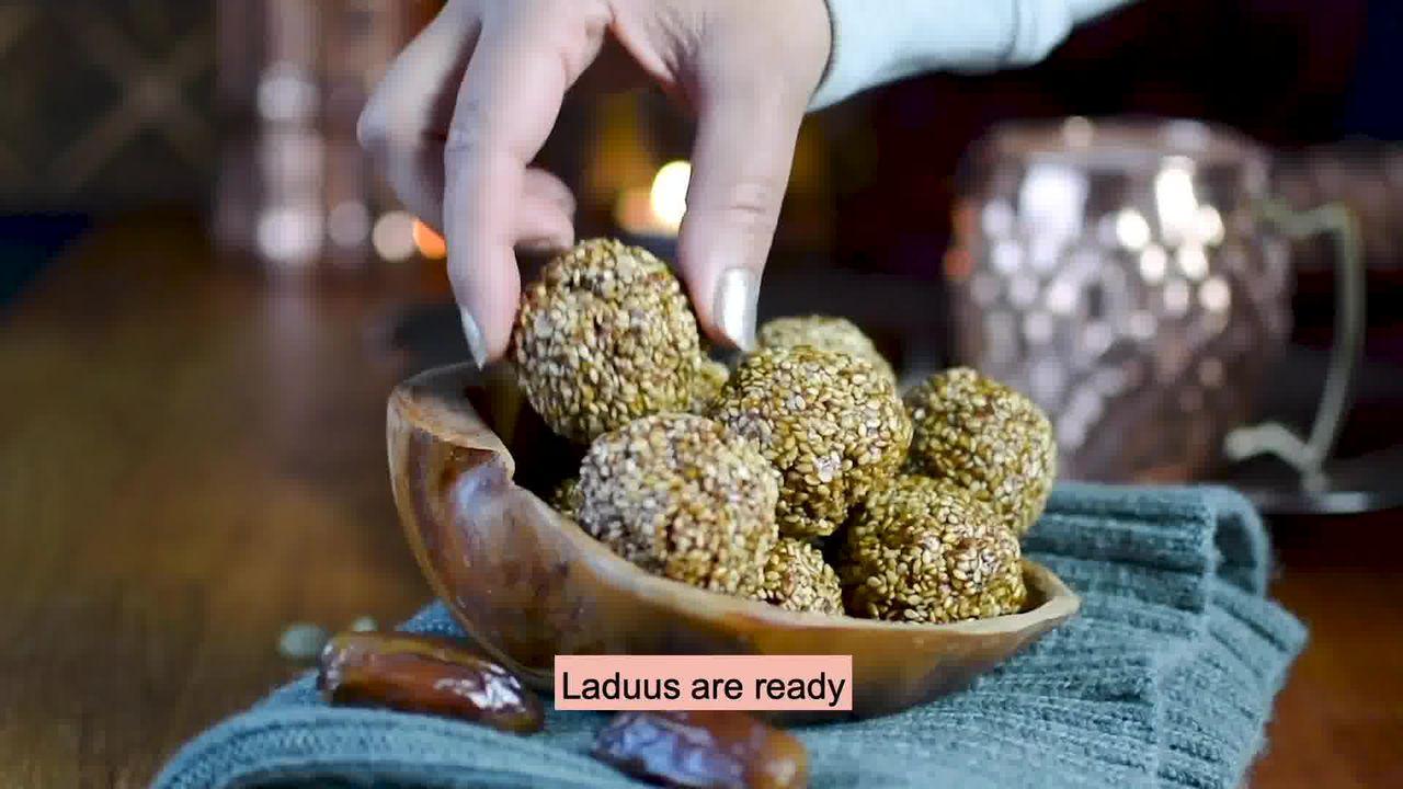 Image of the cooking step-1-12 for Til Laddu - Tilgul (Sesame Seeds Laddu)