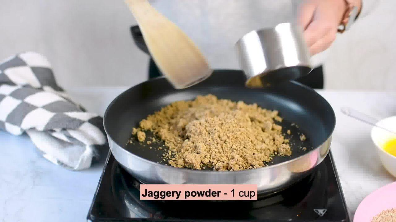 Image of the cooking step-1-3 for Til Laddu - Tilgul (Sesame Seeds Laddu)