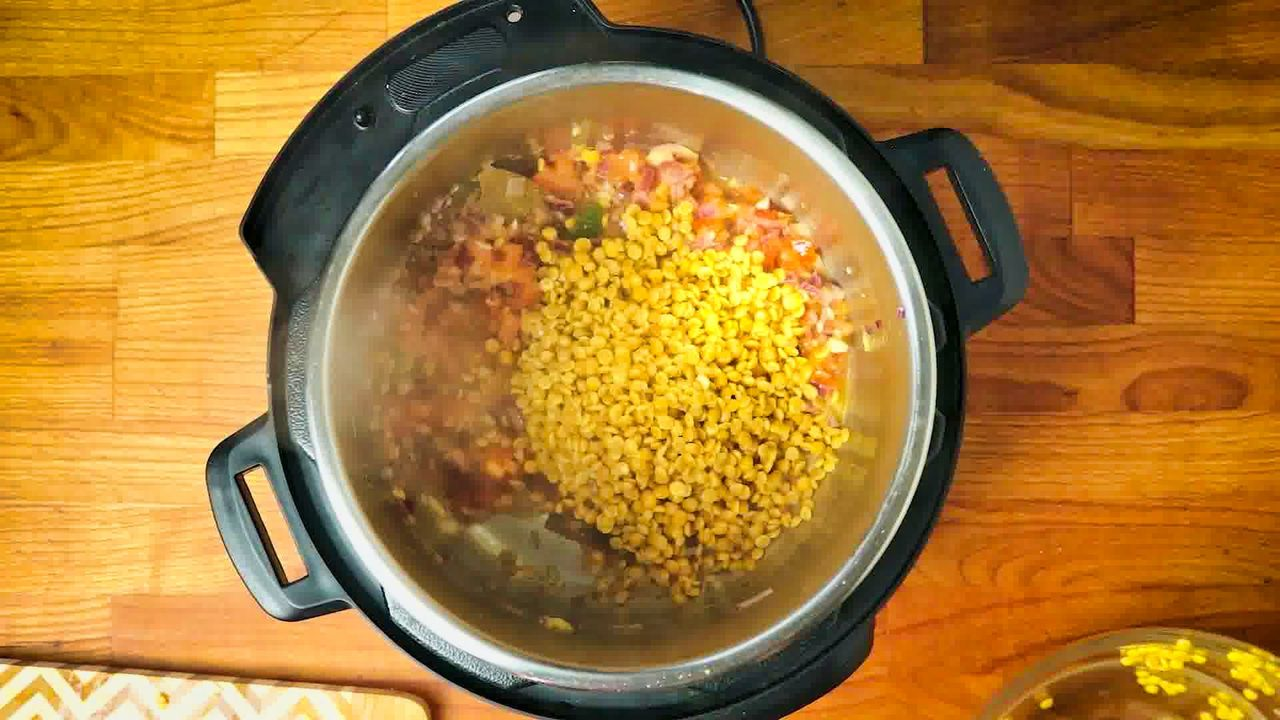 Image of the cooking step-1-8 for Toor Dal Tadka -  Instant Pot + Pressure Cooker