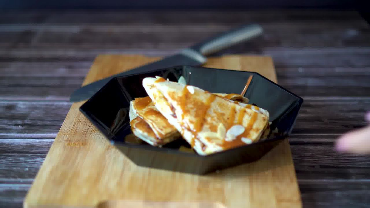 Image of the cooking step-6-8 for TikTok Tortilla Wrap Hack (6 Vegetarian Filling Ideas)