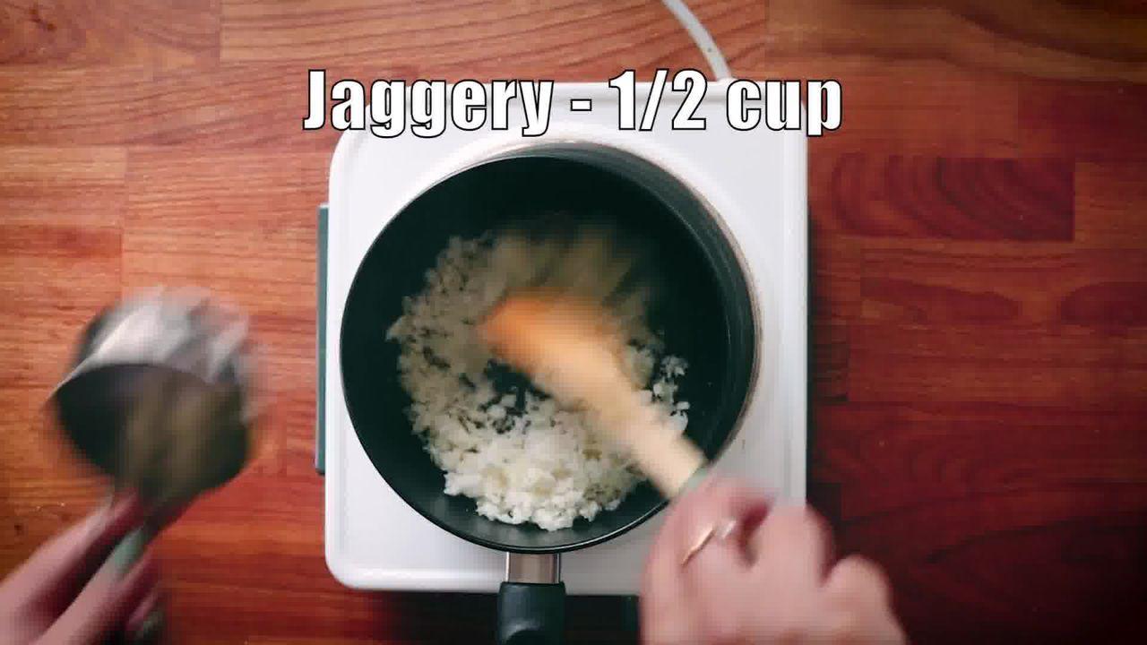 Image of the cooking step-1-2 for Modak Recipe - Ukadiche Modak Recipe - Steamed Modak