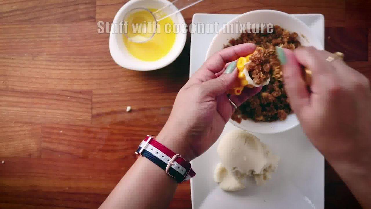 Image of the cooking step-4-5 for Modak Recipe - Ukadiche Modak Recipe - Steamed Modak
