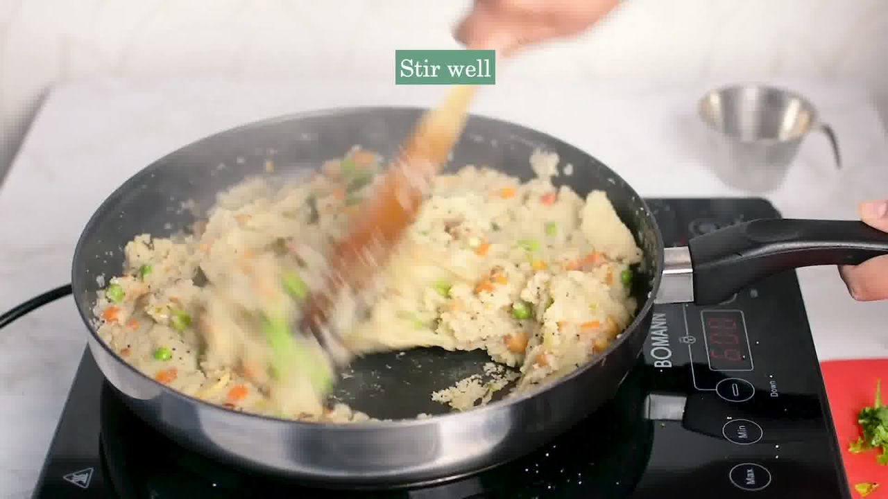 Image of the cooking step-2-14 for Upma Recipe - How to make Rava Upma