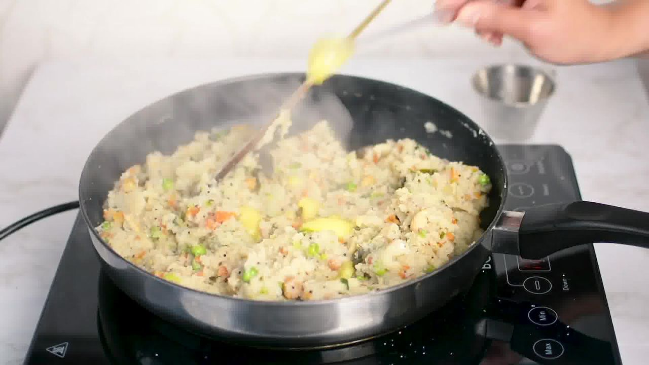 Image of the cooking step-2-16 for Upma Recipe - How to make Rava Upma