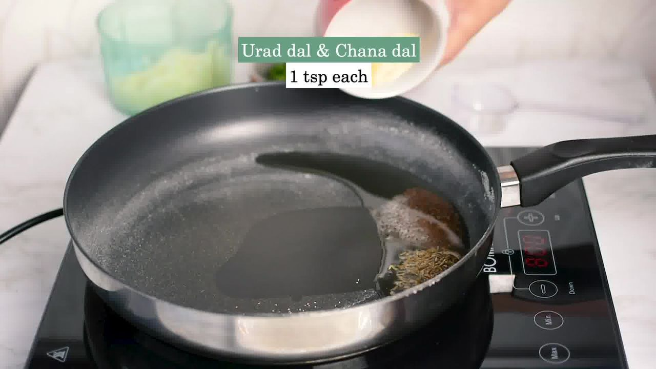 Image of the cooking step-2-2 for Upma Recipe - How to make Rava Upma