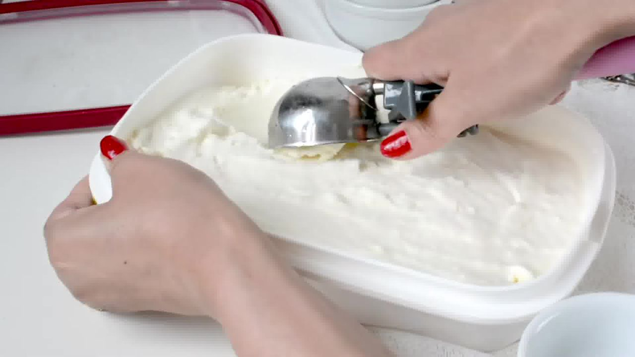 Image of the cooking step-1-10 for Homemade Vanilla Ice Cream Recipe (No Ice Cream Machine)