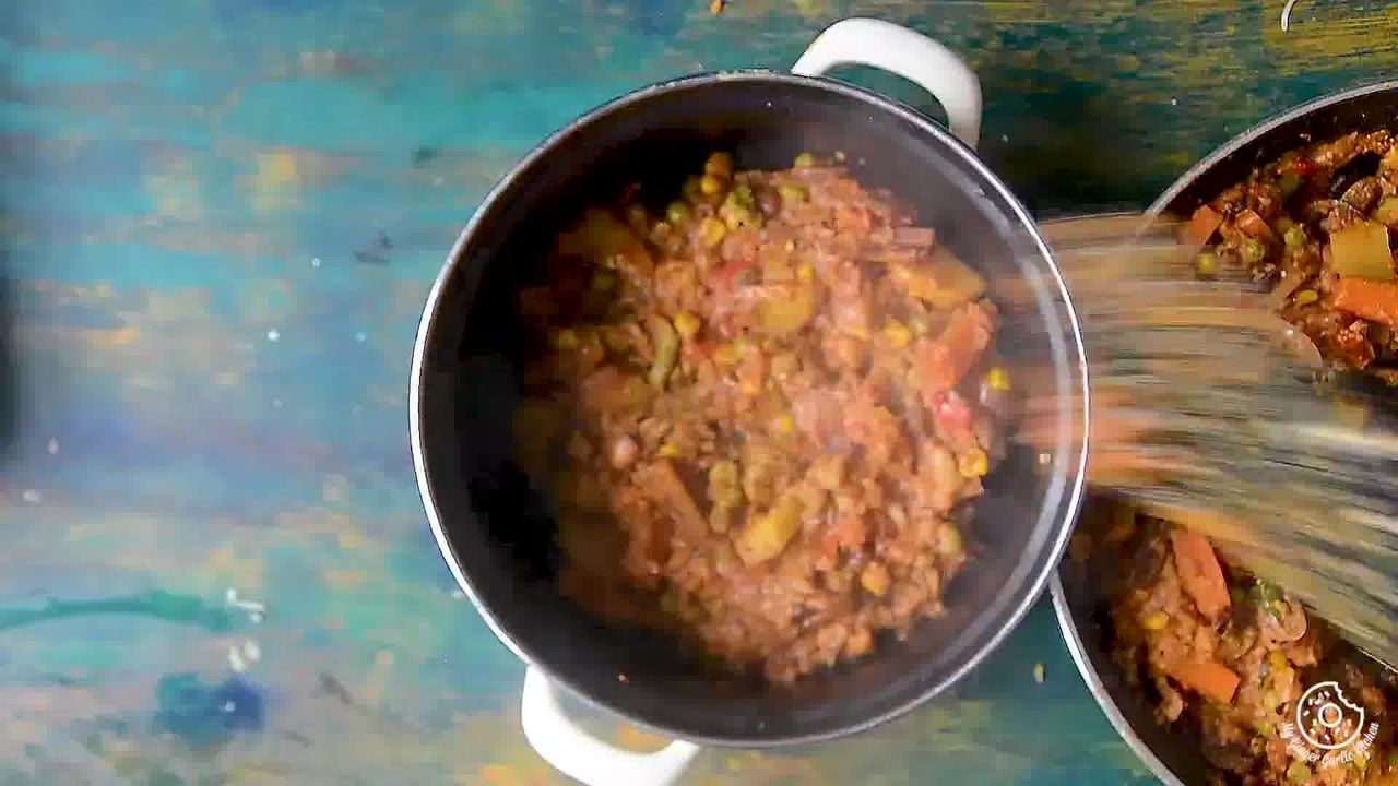 Image of the cooking step-5-1 for Restaurant Style Vegetable Biryani Recipe