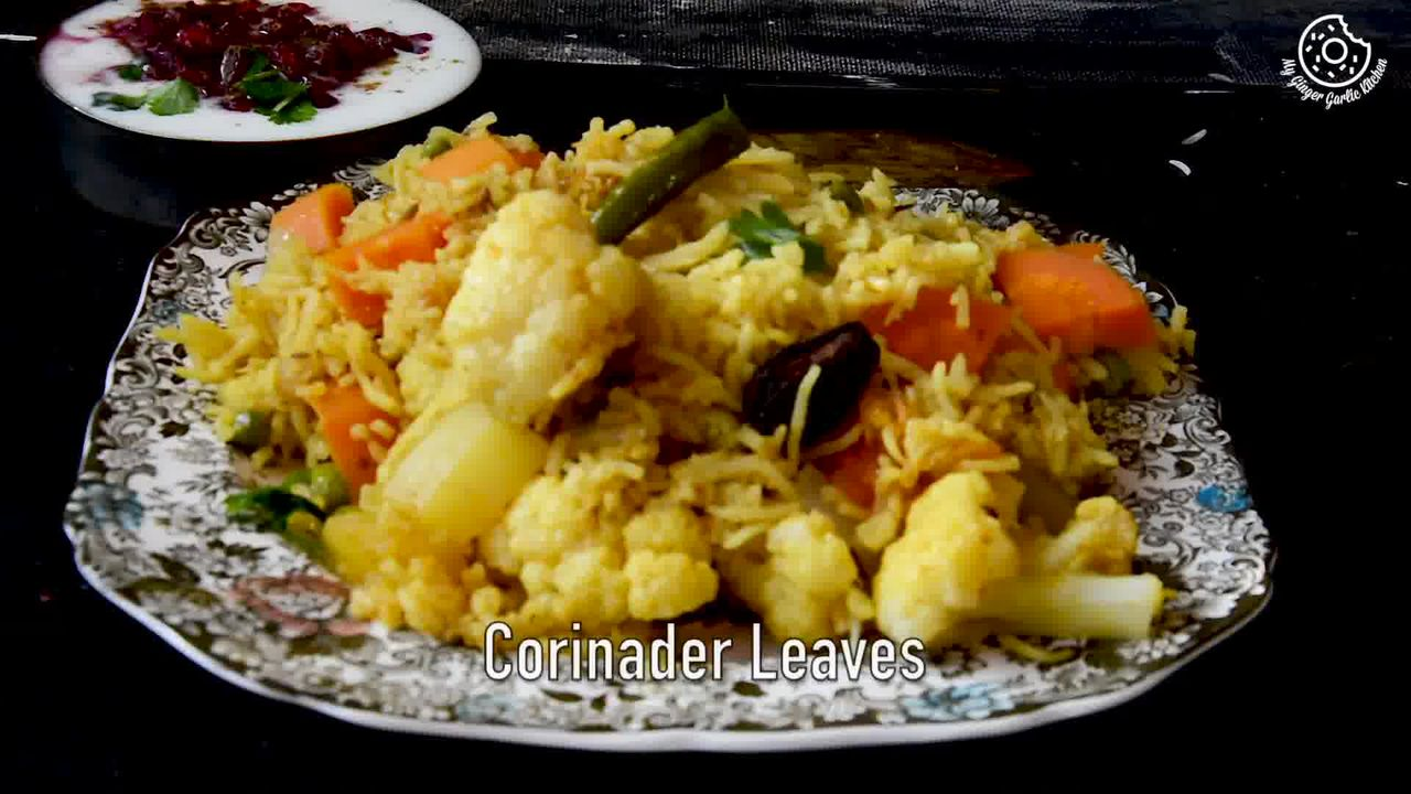 Image of the cooking step-1-17 for Vegetable Tahiri Recipe - Aromatic One Pot Tehri