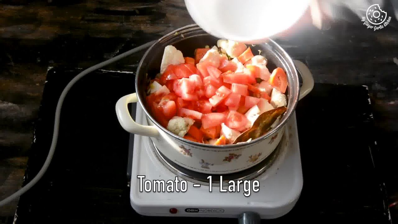 Image of the cooking step-1-8 for Vegetable Tahiri Recipe - Aromatic One Pot Tehri