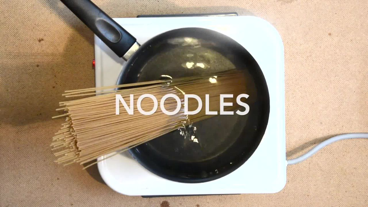 Image of the cooking step-1-1 for Vegetable Teriyaki Noodles - Teriyaki Stir Fry Noodles