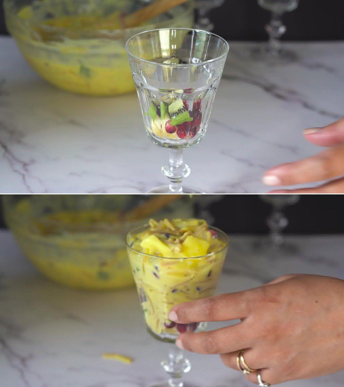 Image of the cooking step-1-12 for Vermicelli Fruit Custard - Semiya Custard
