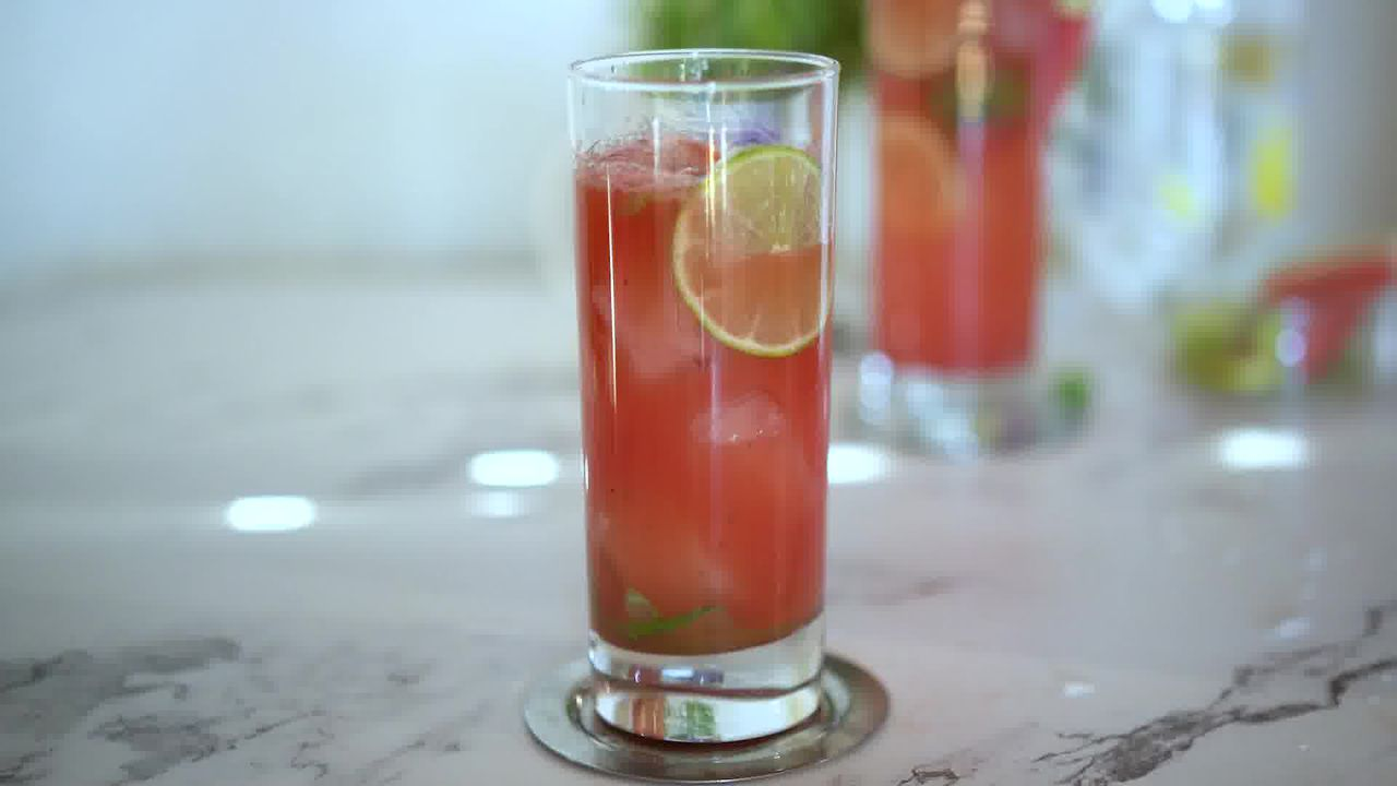 Image of the cooking step-1-12 for Watermelon Mojito