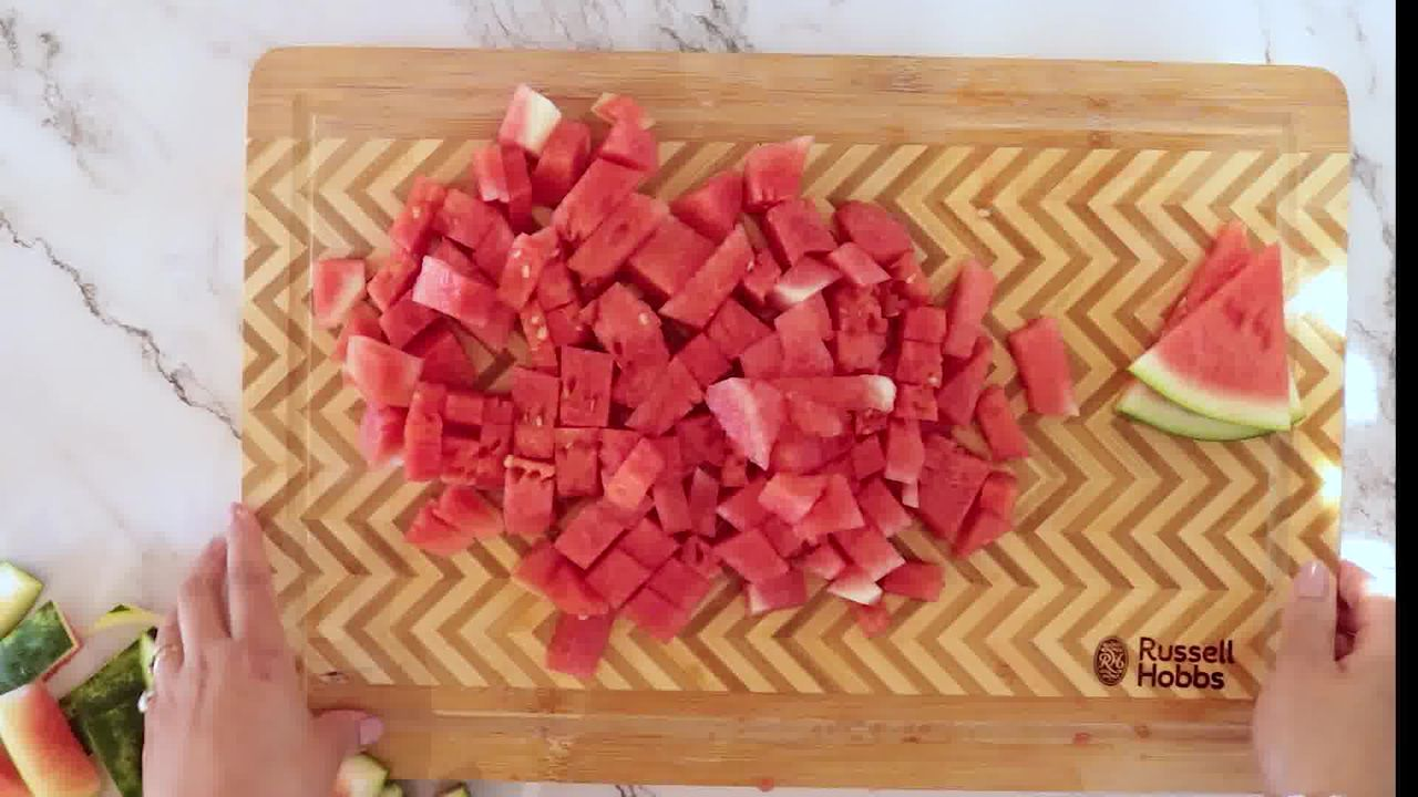 Image of the cooking step-1-2 for Watermelon Mojito