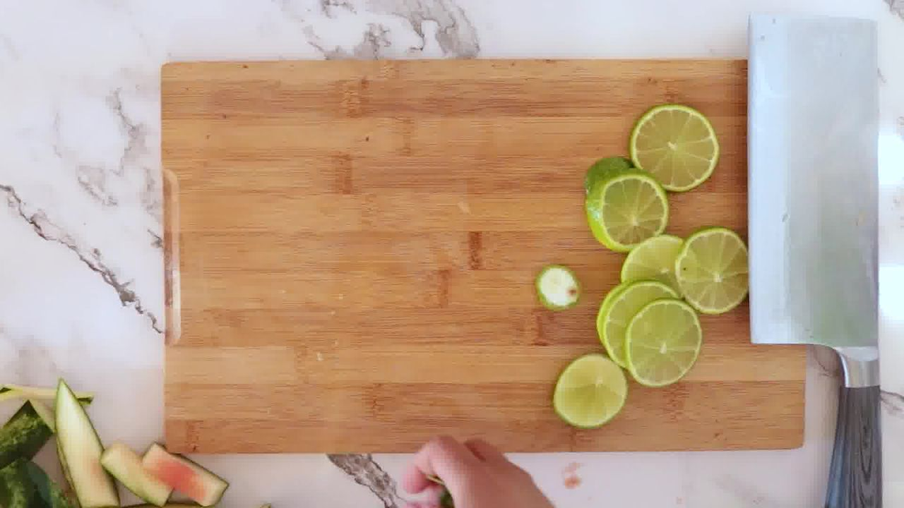 Image of the cooking step-1-3 for Watermelon Mojito