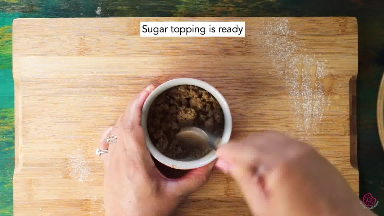 Image of the cooking step-1-10 for Whole Wheat Peach Muffins