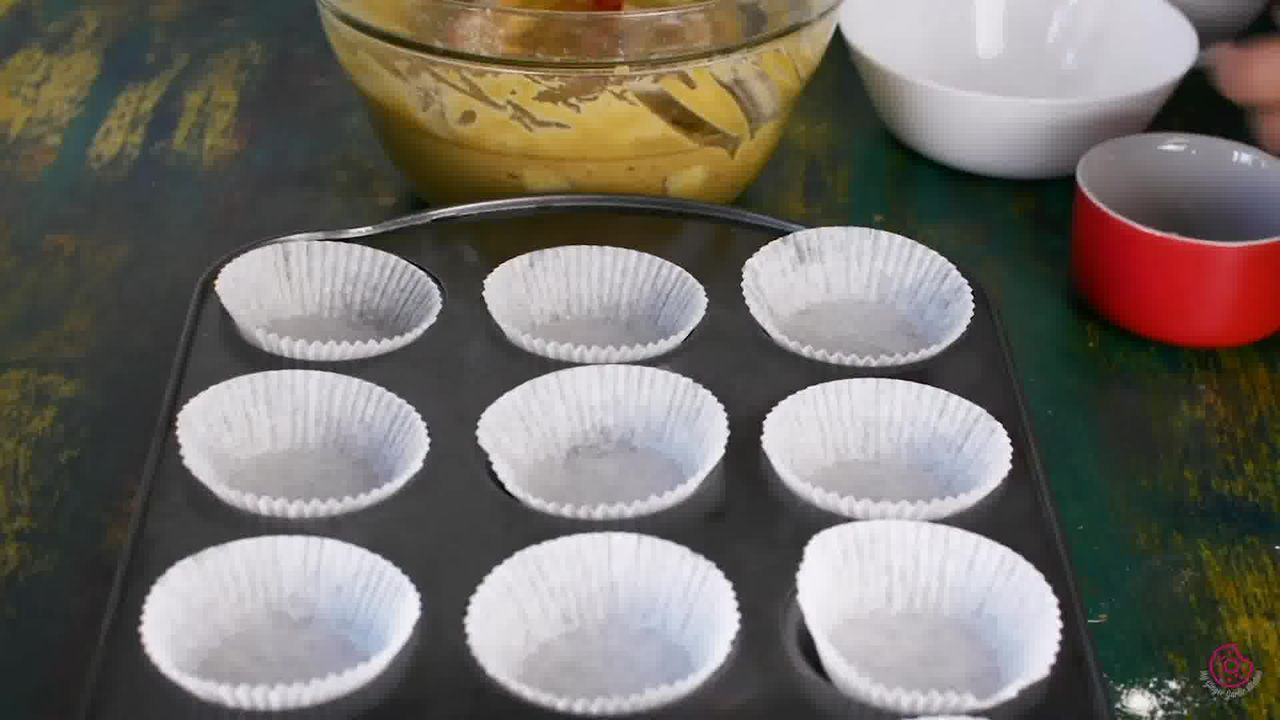 Image of the cooking step-1-2 for Whole Wheat Peach Muffins
