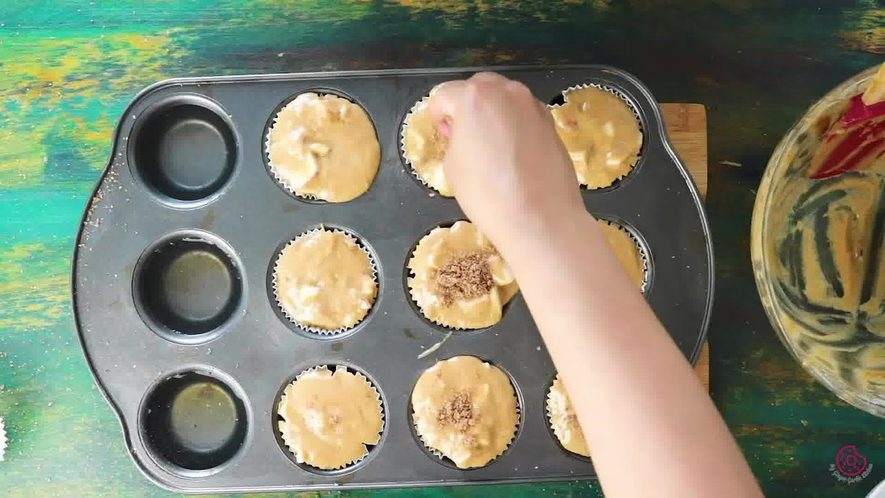 Image of the cooking step-2-3 for Whole Wheat Peach Muffins
