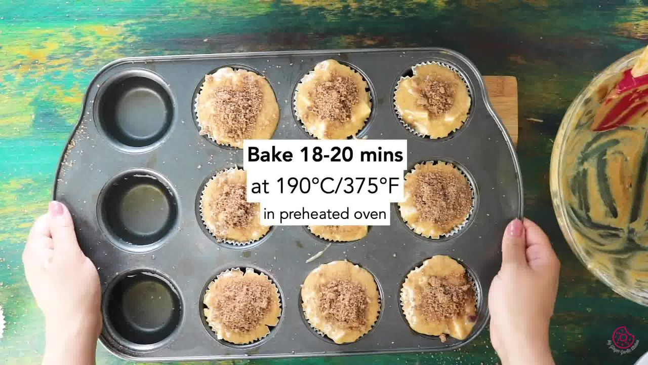Image of the cooking step-2-4 for Whole Wheat Peach Muffins